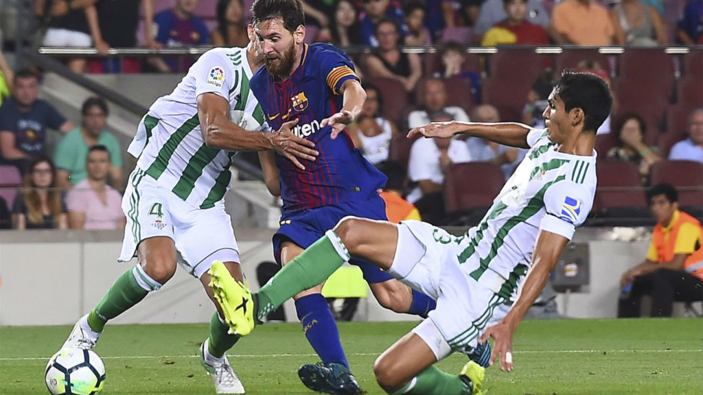 Betis will try to take Barca's possession
