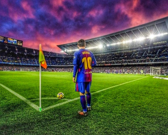 The Messi show