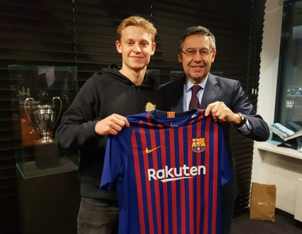 Barca connection with Ajax