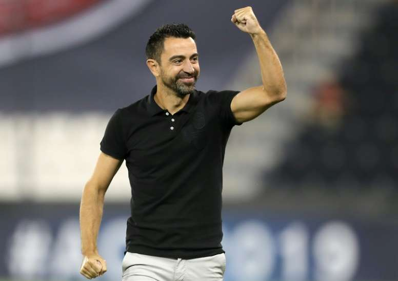 Coach Xavi enjoys his first few months in his new career