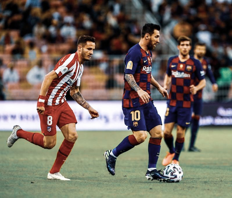 Barcelona lose to Atletico in the Super Copa semi final