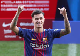 Coutinho unveiled as new Barcelona player - AS.com