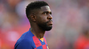 Umtiti leaves Barcelona exit door open and takes aim at ...