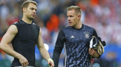 Neuer and his club are very certain about who is better and who should be the first goalkeeper at the national team, and they expressed their feelings about this rivalry in interviews as well. Bayern Munich's president said that he won't allow his German players to play for the national team if Ter Stegen becomes the number one goalkeeper there. This statement understandably took this drama to another level. After this, every time Ter Stegen plays or gets a chance, all eyes on him and his actions. He can't allow making mistakes, because it will give more power to the media and they won't stop criticizing him. Ter Stegen respects his teammate, but he thinks he deserves more chance.