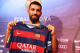 Arda Turan presentation as new FC Barcelona player. | Silver Press ...