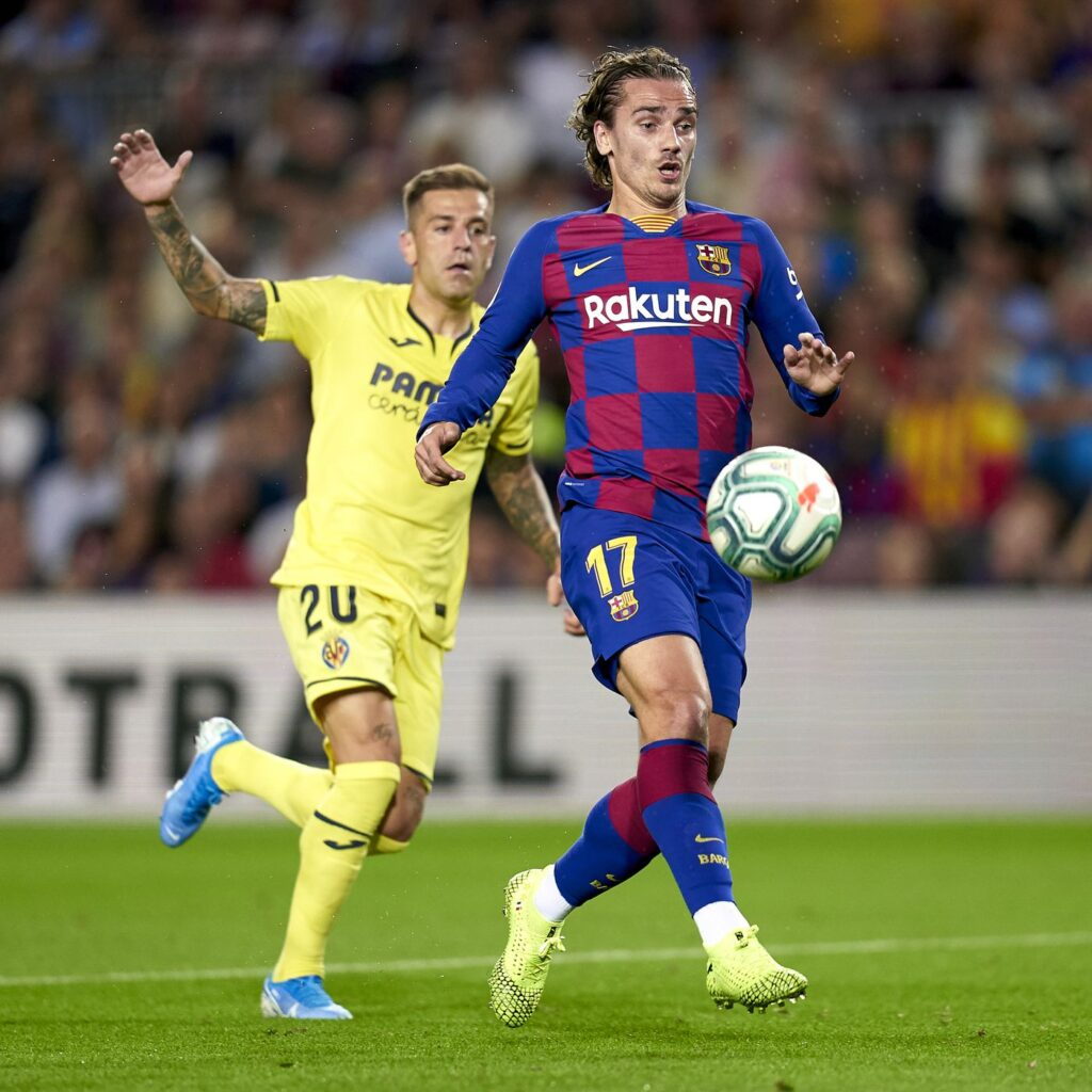 Barça vs Villarreal in the first match of the season