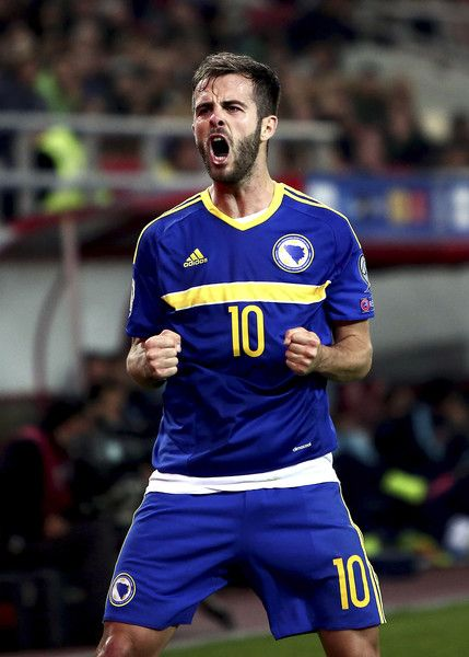 Miralem Pjanic in the Bosnian national team