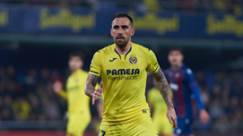 Alcacer played for Both Barcelona and Villarreal