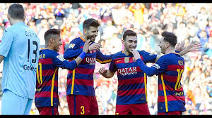 Barcelona vs Getafe All Goals (6-0) 12-3-2016 - YouTube