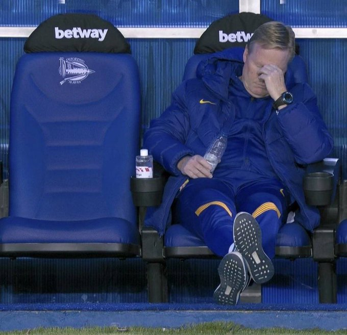 Koeman lose another match in Barcelona