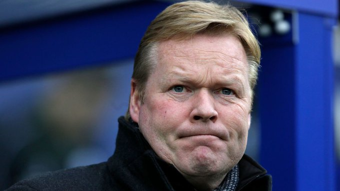 The loss of Barça to Juventus in on Koeman's hands