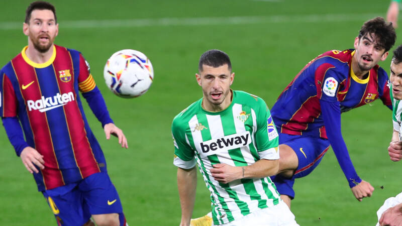 Trincao and Messi lead as Barcelona beat Betis