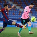 Match Report : Barcelona and Levante finish in a 3-3  draw